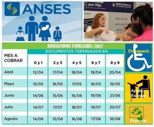 Anses ASIGNACIONES FAMILIARES
