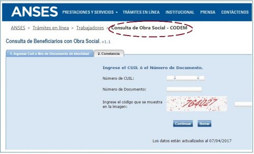 Anses Codem Requisitos Sacar Turno Online 2018 Anses