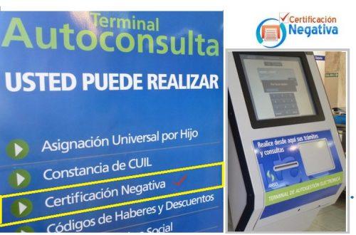 Terminal AUTOCONSULTA ONLINE