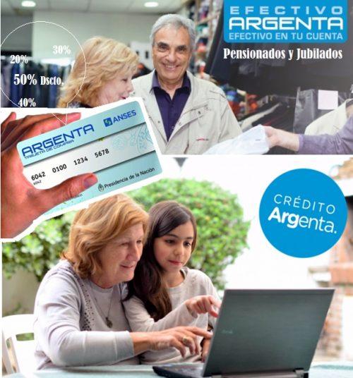 Anses TARJETA ARGENTA